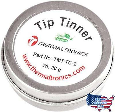Thermaltronics TMT-TC-2 Lead Free Tip Tinner (20g) in 0.8oz Container,No Tax