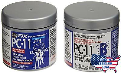 PC Products 80115 PC-11 Two-Part Marine Grade Epoxy Adhesive Paste, 1/2 lb in Tw