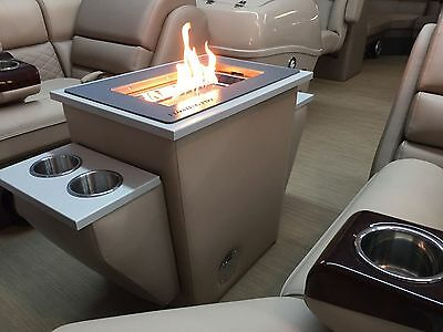 Pontoon Fire Pit Refreshment Table