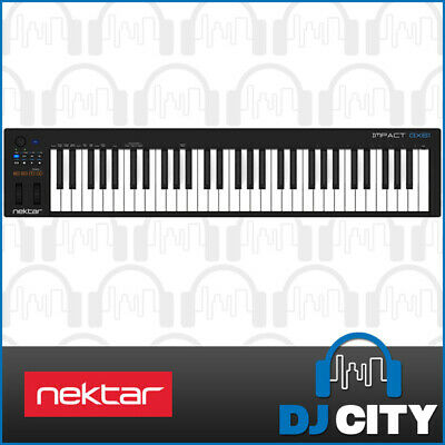 Nektar Impact GX61 USB MIDI Keyboard 61-Key w/ Bitwig 8-Track Software - NEW