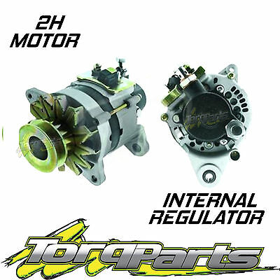 2H Diesel Alternator Suit Toyota 75 Series Landcruiser 4.0L 80A Internal Ute