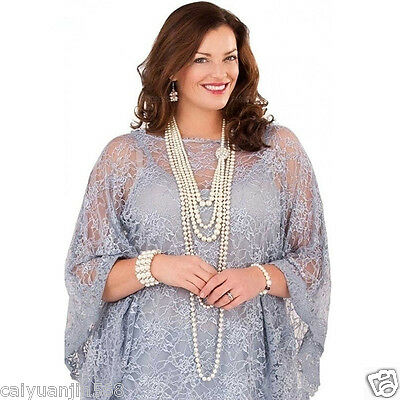 Gorgeous Lace Chiffon Mother of the Bride Pant Suits Plus Size for Formal Party