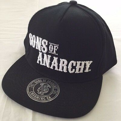 NEW - Men's Sons Of ANARCHY  Flat Cap