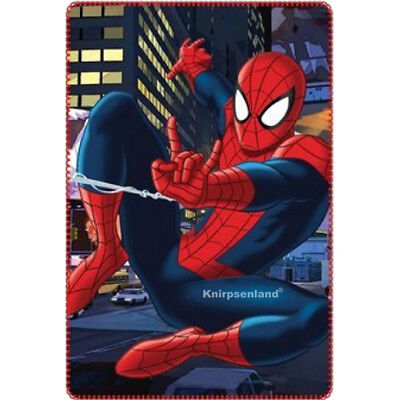 SpiderMan Fleecedecke Decke 100 x 150 Fleece Kinder Kinderdecke Kuscheldecke 1