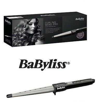 BaByliss Pro Conical Ceramic Hair Curling Wand Salon Curlers Tong Styler-2285CU