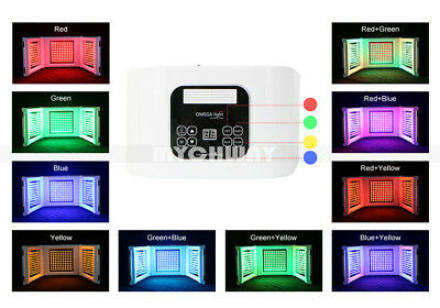 Photon RED + BLUE+ Yellow Phototherapy LED Skin Rejuvenation PDT Beauty Machine