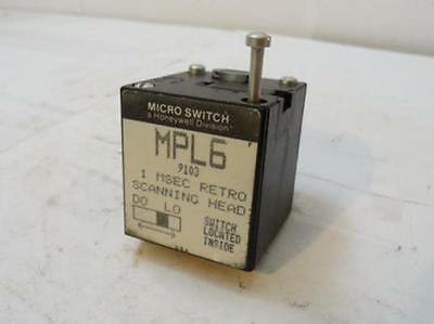 35388 Old-Stock, Micro Switch MPL6 Photoswitch Head