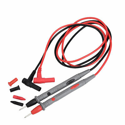 1000V 20A Ultra Fine Universal Probe Test Lead Cable Digital Multimeter Meter