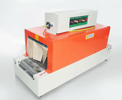 Free shipping 220V Thermal heat shrink packaging machine tunnels for POF/ PVC M