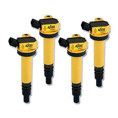 ACCEL Ignition SuperCoil for Toyota Soluna Vios 1.5i (02-07), 4 Pack