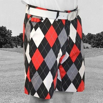 NUOVO Royal & Awesome Funky Forte Pantaloncini Da Golf - Diamanti In The Ruvidi