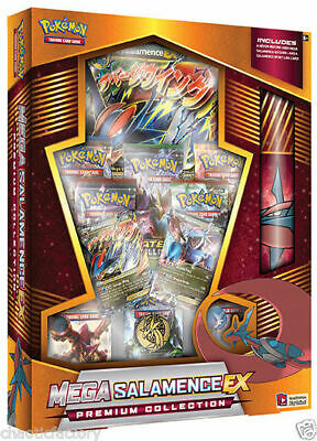 POKEMON TCG Mega Salamence-EX  Premium Collection Box Factory SEALED!!