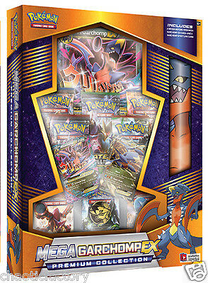 POKEMON TCG Mega Garchomp-EX Premium Collection Box Factory SEALED!!