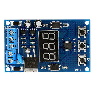 Multi-function MOS Control RelayCycle Timer Module Delay Time Switch DC12/24V S*