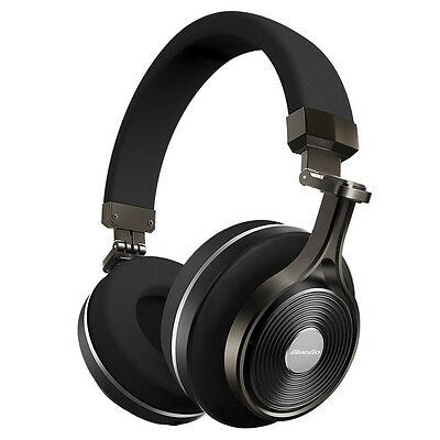 Bluedio T3+ Bluetooth Stereo Headphones Wireless Headphones with Micro-SD Slot