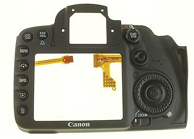 Canon Eos 7D Dslr Rear Cover Back Cover Made By Canon Genuine Parts