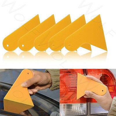 5pcs Car Window Tint Scraper Squeegee Wrapping Vinyl Film Cleaning Tool Kit