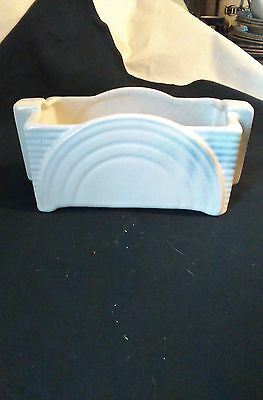 Shorter and Son Art Deco Vintage Pottery Planter 8d x19L x9h cm