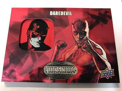 2015 Upper Deck Marvel Vibranium Patch Card Daredevil P-20