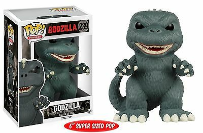 "Funko POP Movies: Godzilla 6"" Super Sized Action Figure"