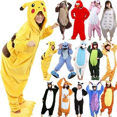 Hot!Unisex Adult animal Pajamas kigurumi Cosplay Costume Animal onesie sleepwear
