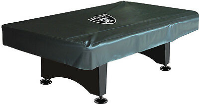 NFL Oakland Raiders Logo 8ft. Pool/Billiards Table Cover