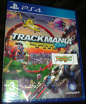 Trackmania TM Turbo Playstation 4 PS4 NEW SEALED