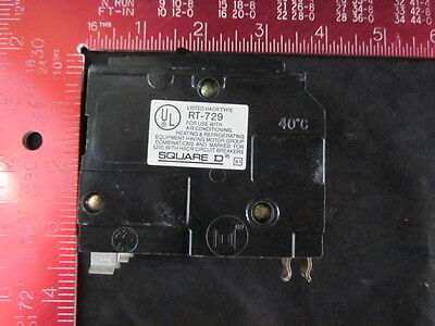 Square D Rt-729 20 Amp 2 Pole Circuit Breaker Qo-230 Ac, 120/240Vac