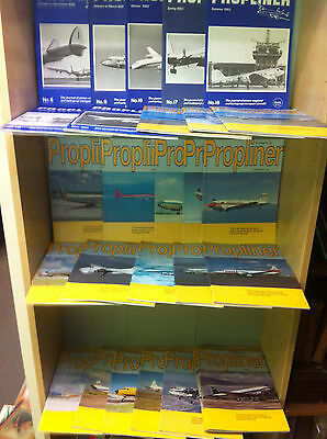 Collection of Propliner - International Review of Piston-Engined.. Magazines
