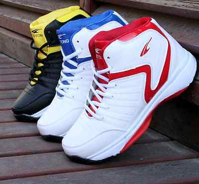 New fashion men 's leisure high - top sports shoes sports basketball shoes