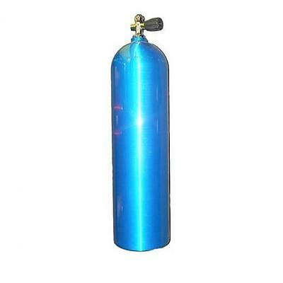 80cf Aluminum Scuba Tank - Electric Blue