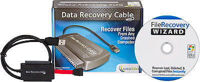 Data Recovery Cable | Recover Lost & Deleted Files | Hard Drive To USB Cable