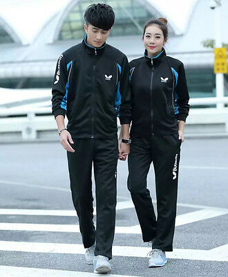 Butterfly Table Tennis Tracksuit -Quality Ping Pang Top & Trousers Set -UK Stock