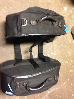 Prima Saddlebags For Scooter / Motorcycle - Side Saddle Bags Throw Over Luggage
