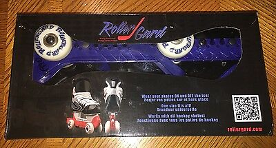 Rollergard Ice Skate Guard, Blue NEW!!