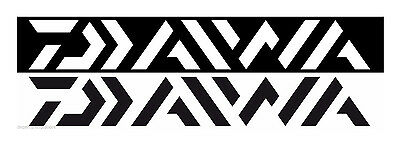 DAIWA VECTOR LOGO BOAT DECAL select size and color