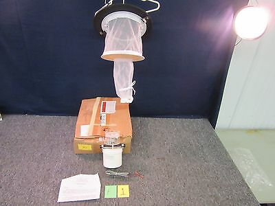 John W Hock Insect Sampling Miniature Blacklight Trap Mosquito Bug Light 1312