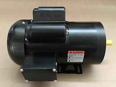 2 hp electric motor 56C or 56 single phase 115/230 Volt 3600/3450 rpm enclosed