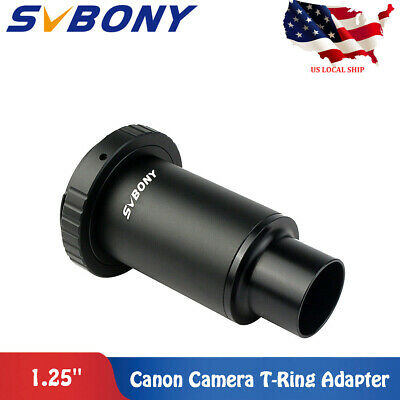 "1.25"" Extension Tube M42 Thread Camera T-Mount Adapter+T2 Ring for Telescope US"