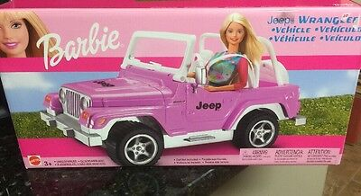 BARBIE DOLL JEEP WRANGLER - Barbie Doll Car New Sealed Rare. Last One