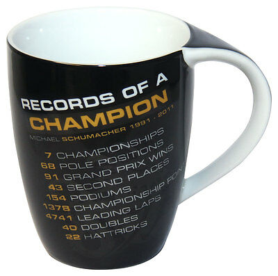 Michael Schumacher Tasse Records of a Champion MS-12-832