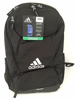 BRAND NEW ADIDAS Climaproof Stadium Team Soccer Football Backpack Color Black