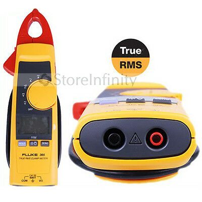 New FLUKE 365 F365 Detachable Jaw-rms AC DC Clamp Meter