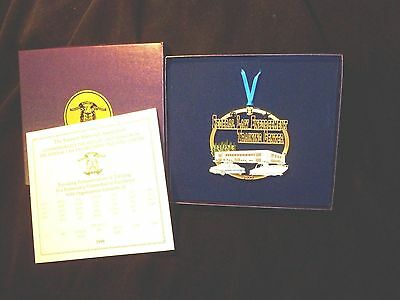 U.S. Treasury Department 1999 Federal Law Enforcement Training Center Ornament