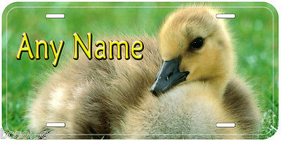 Baby Goose Aluminum Any Name Personalized Auto Tag Novelty License Plate