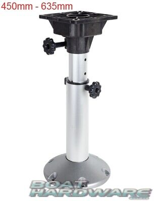 Boat Seat Pedestal Manually Adjustable 450-635mm MA773-2 Oceansouth Brand