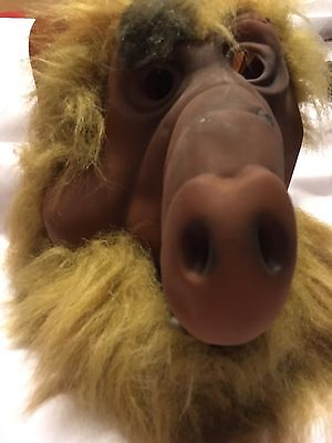 Rare Alf Mask/Vintage 80's Halloween Collectible,TV Show Costume