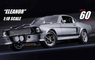 Gone in Sixty Seconds Eleanor '67 Mustang 1:18 Scale Diecast Car