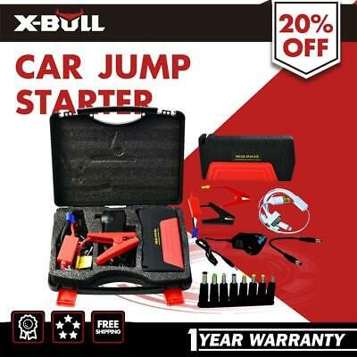 50800mAh Vehicle Car Jump Starter Booster 2USB Battery Power Bank Charger 12V