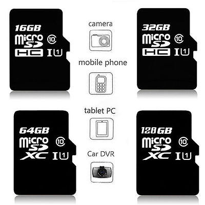 Kingston MicroSD Card 16 32 64 128 GB TF Flash Memory With Adapter Class10 UHS-I